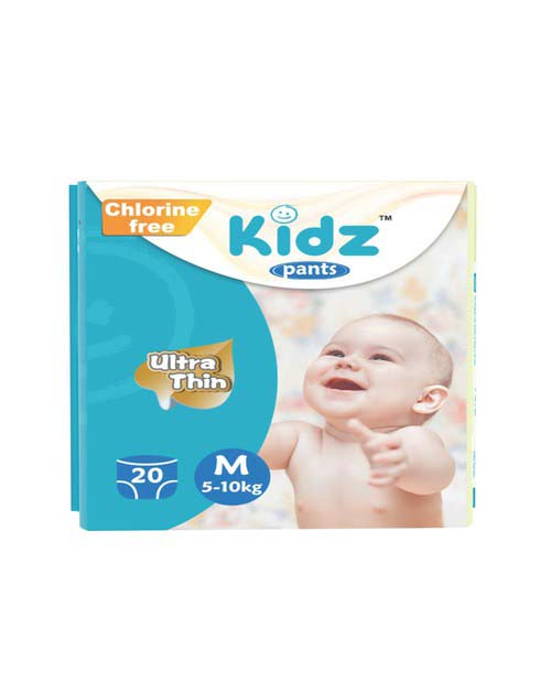 Kidz Pants Diaper M (5-10kg) 20pcs