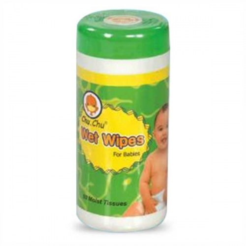 Chu Chu Baby Wet Wipes cylinder 60 pcs
