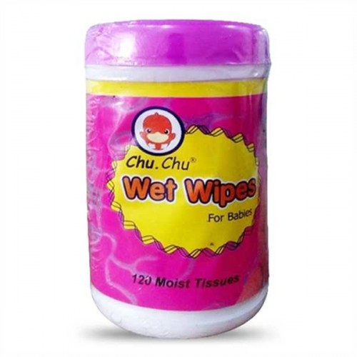Chu chu baby  wet wipes 120 Pcs